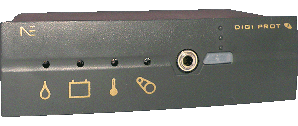 Protetor de motores - DIGI PROT - Sensores e indicações de funcionamento