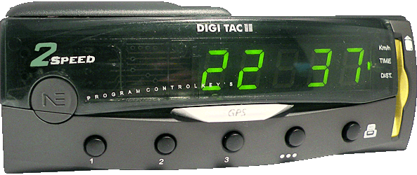 Tacgrafo digital - DIGI TAC OBC/Card 2V - Controles, display y tarjeta chip.