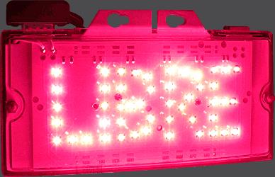 Taxímetro digital - DIGI TAX Platino - Bandera LED activa